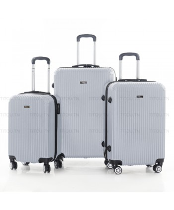 Set de trois valises - Gris