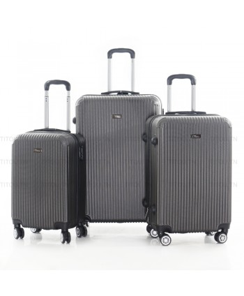 Set de trois valises - Gris...