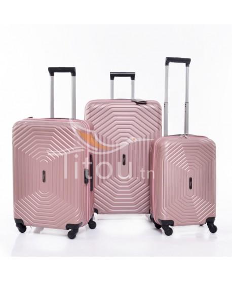 Set de trois valises - Invictus - Rose