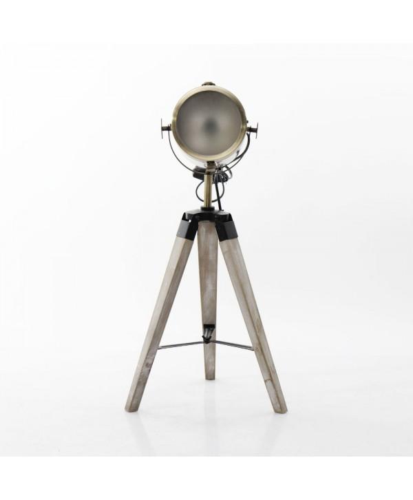 Lampadaires - Lampe trépied avec projecteur