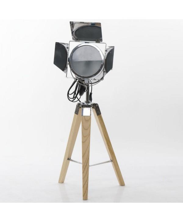 Lampadaires - Lampe trépied avec projecteur PM