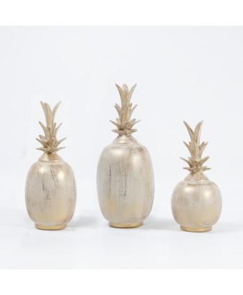 Ananas décoratif 3 pcs en...
