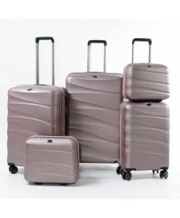 Set de 5 valises - Rose
