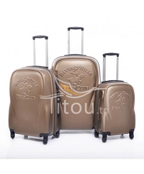 Set de trois valises polo club - Canada - Bronze