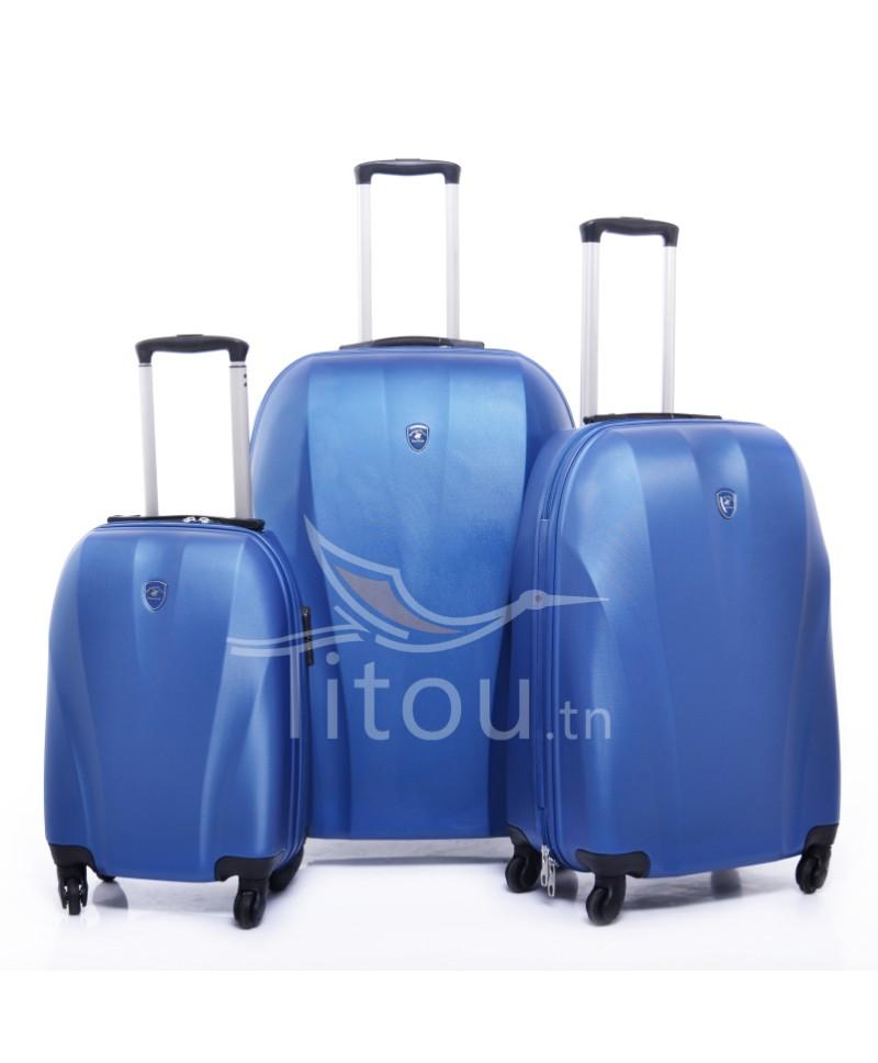 Set de trois valises polo club - Cappadocia - Blue