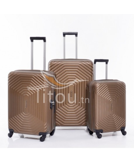 Set de trois valises - Invictus - Bronze