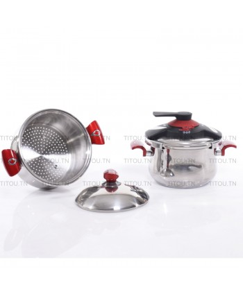 Cocotte 5 litres OMS inox...
