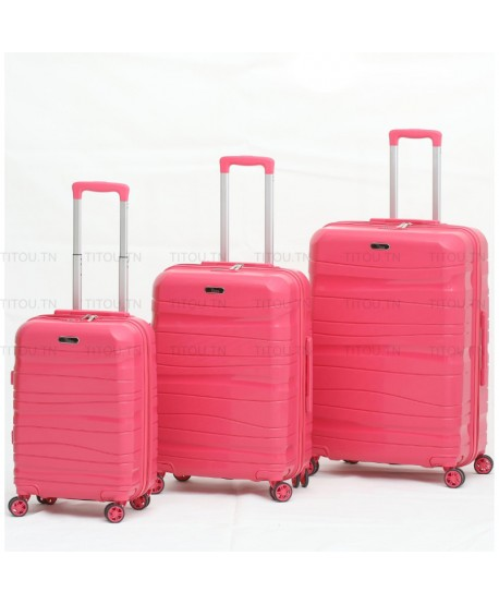 Set de trois valises - Titou - Rose